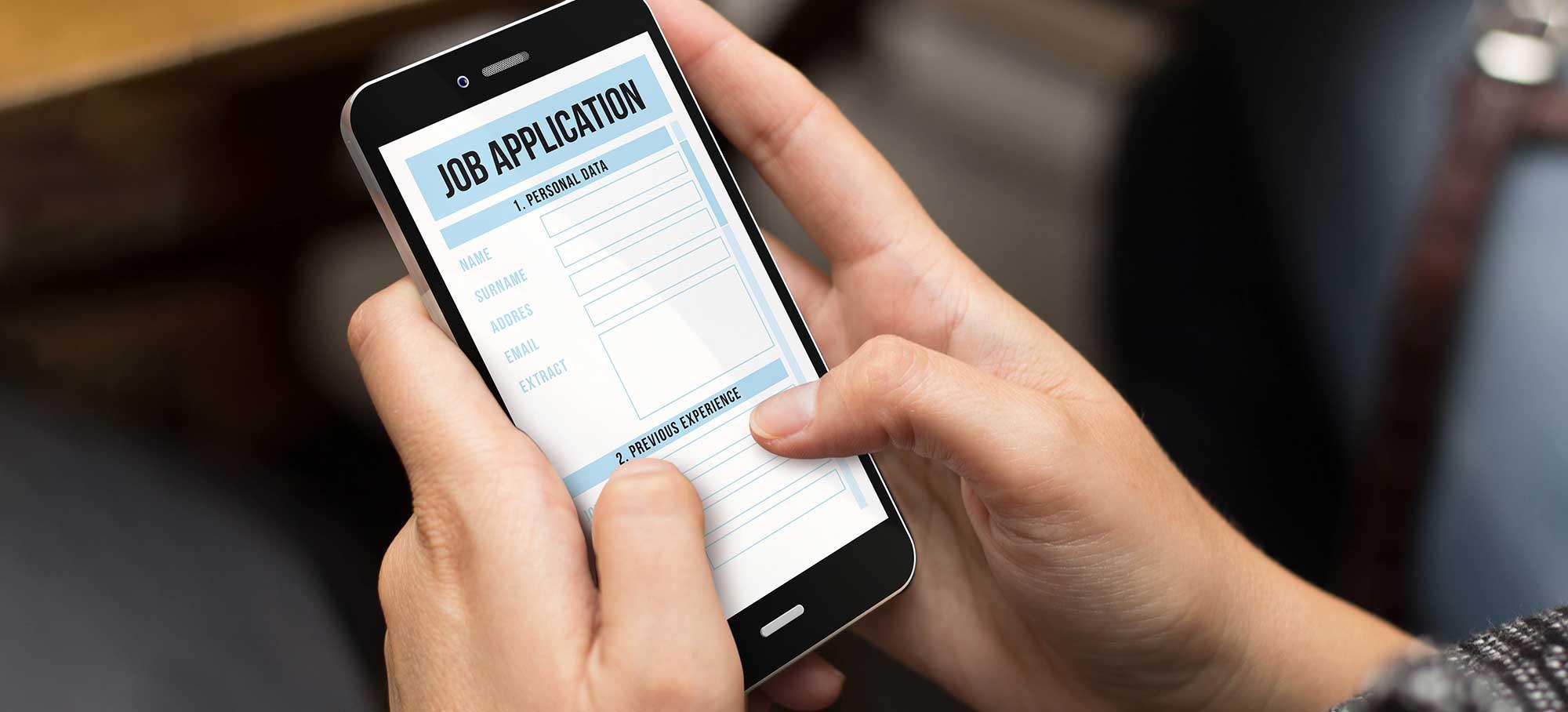 recruitment form, automated job distribution