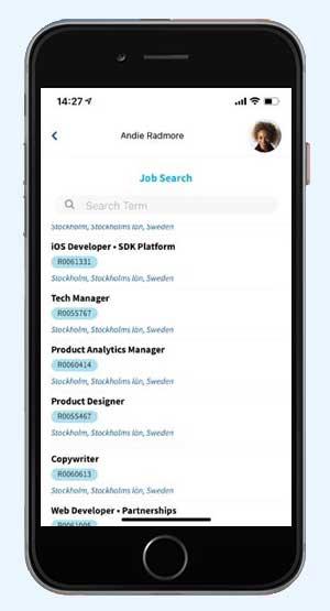 job search, automated job distribution